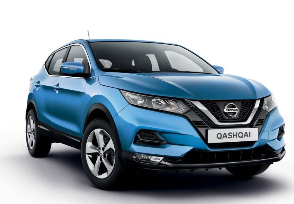 Nissan Qashqai, líder de ventas en España.