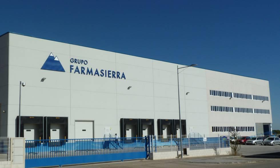 Centro logístico en Cabanillas del Campo (Guadalajara).