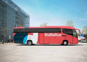 Autobús de BlaBlaCar.