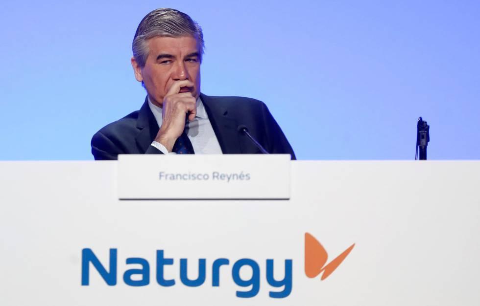 El presidente de Naturgy, durante la junta general de accionistas de Naturgy.