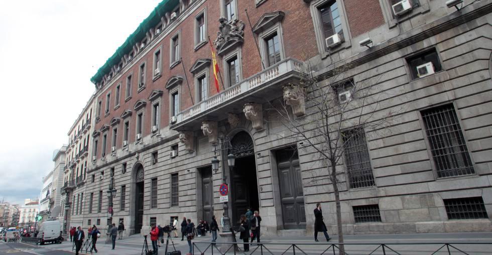 Sede del Ministerio de Hacienda en Madrid.