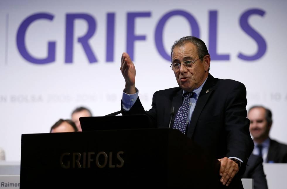 Víctor Grífols Roura, presidente de Grifols.