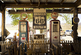 Route 66 self drive motorcycle tour - Williams