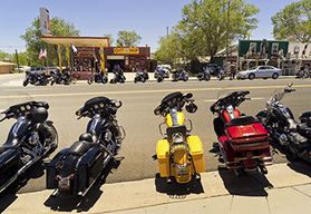 Route 66 to Los Angeles guided motorcycle tour Grand Canyon