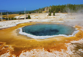Yellowstone self-drive motorcycle tour - West Yellowstone