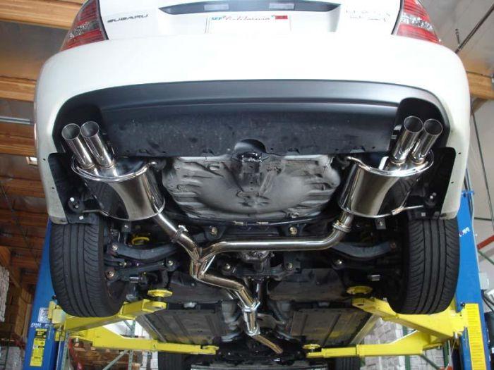 2005 2009 subaru legacy gt cat back exhaust 3 inch oers series