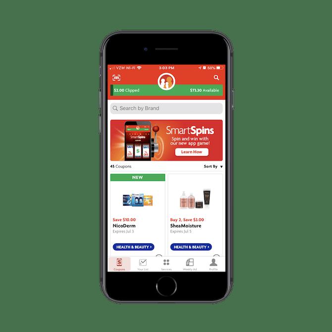 L'application mobile Family Dollar n'est pas conçue pour le commerce électronique, mais pour accompagner les acheteurs dans les magasins de détail et les aider à économiser de l'argent grâce à des coupons
