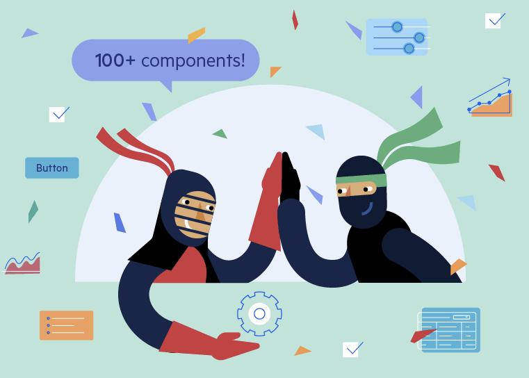 """Kendo UI for Angular célèbre plus de 100 composants """"title ="""" Kendo UI for Angular Celebrates 100+ Components """"/></p data-recalc-dims="""