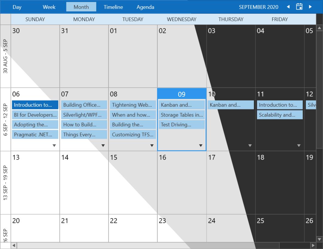 Office Variations de ScheduleView 2019