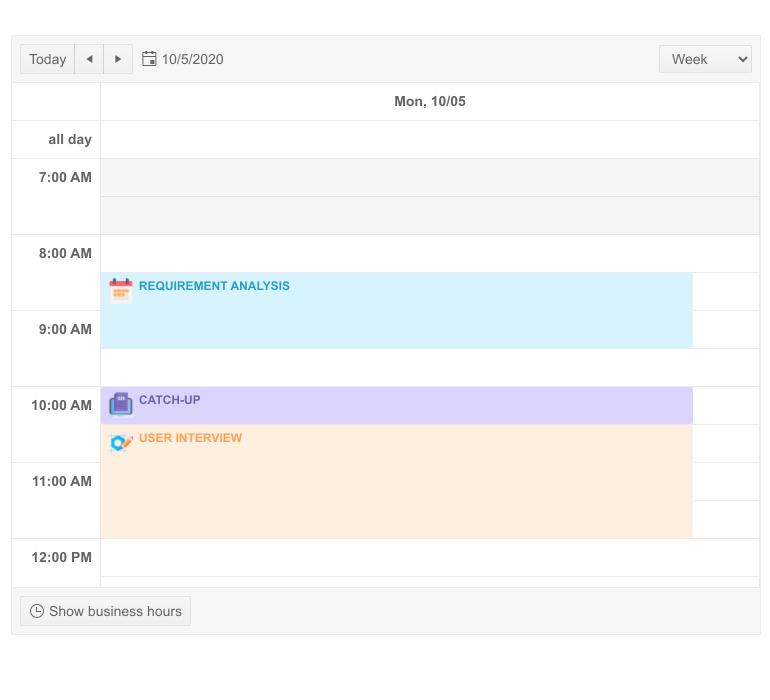 """Telerik UI for Modèles de rendez-vous Blazor Scheduler """"title ="""" UI Telerik pour modèles de rendez-vous Blazor Scheduler """"style ="""" vertical-align: middle; """"/> <br data-recalc-dims="""