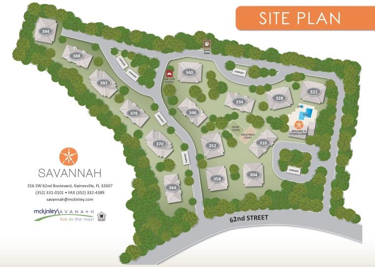 Savannah Apartments  Gainesville Florida  McKinley