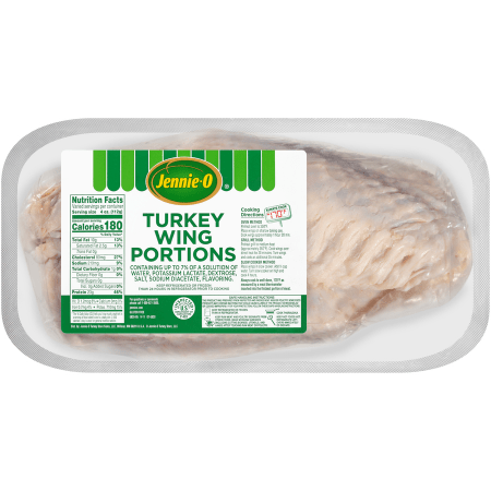 fresh frozen turkey wings