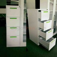 Myanmar Furniture- 4-Drawer Vertical Filing Cabinet | Vootee