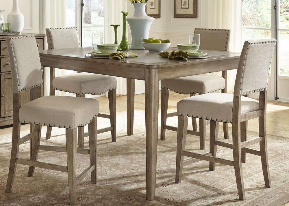 discount dining room furniture sets | Dining Room Set Square Counter Height – eFurniture Mart ...