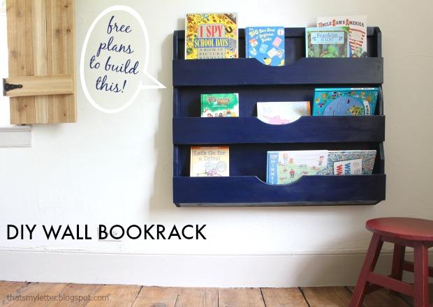 Diy Wall Bookrack Home Decor Interior Design Discount