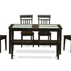 4 Chair Dining Set Egg Swing Rectangular Room W Chairs  Efurnituremart