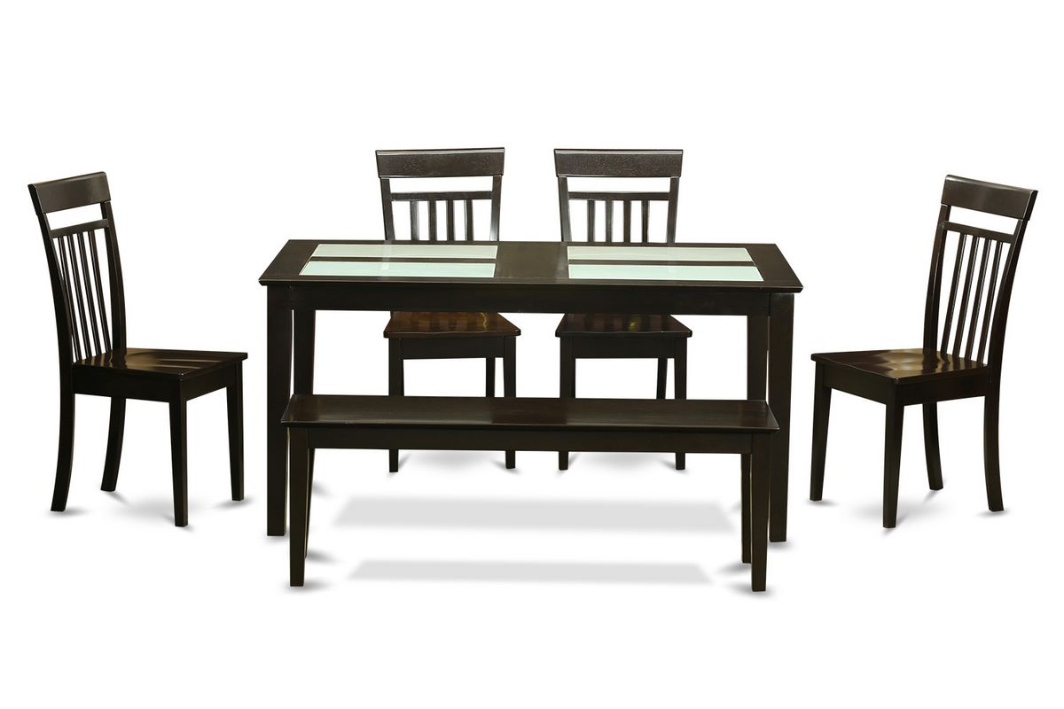 Rectangle Kitchen Table And Chairs Rectangular Dining Room Set W 4 Chairs Efurnituremart