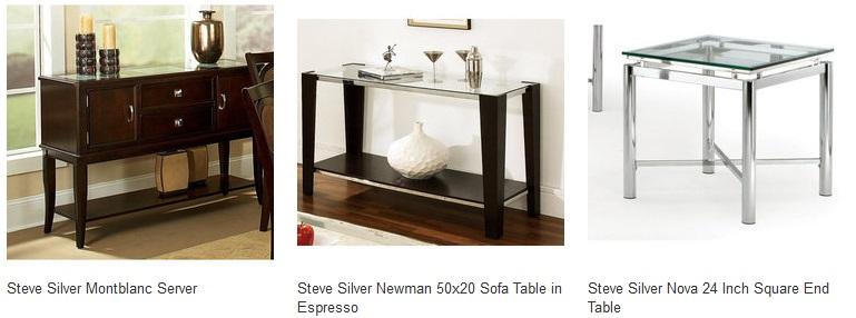 Interior Design Furniture Codes ~ Steve silver furniture sale off coupon code