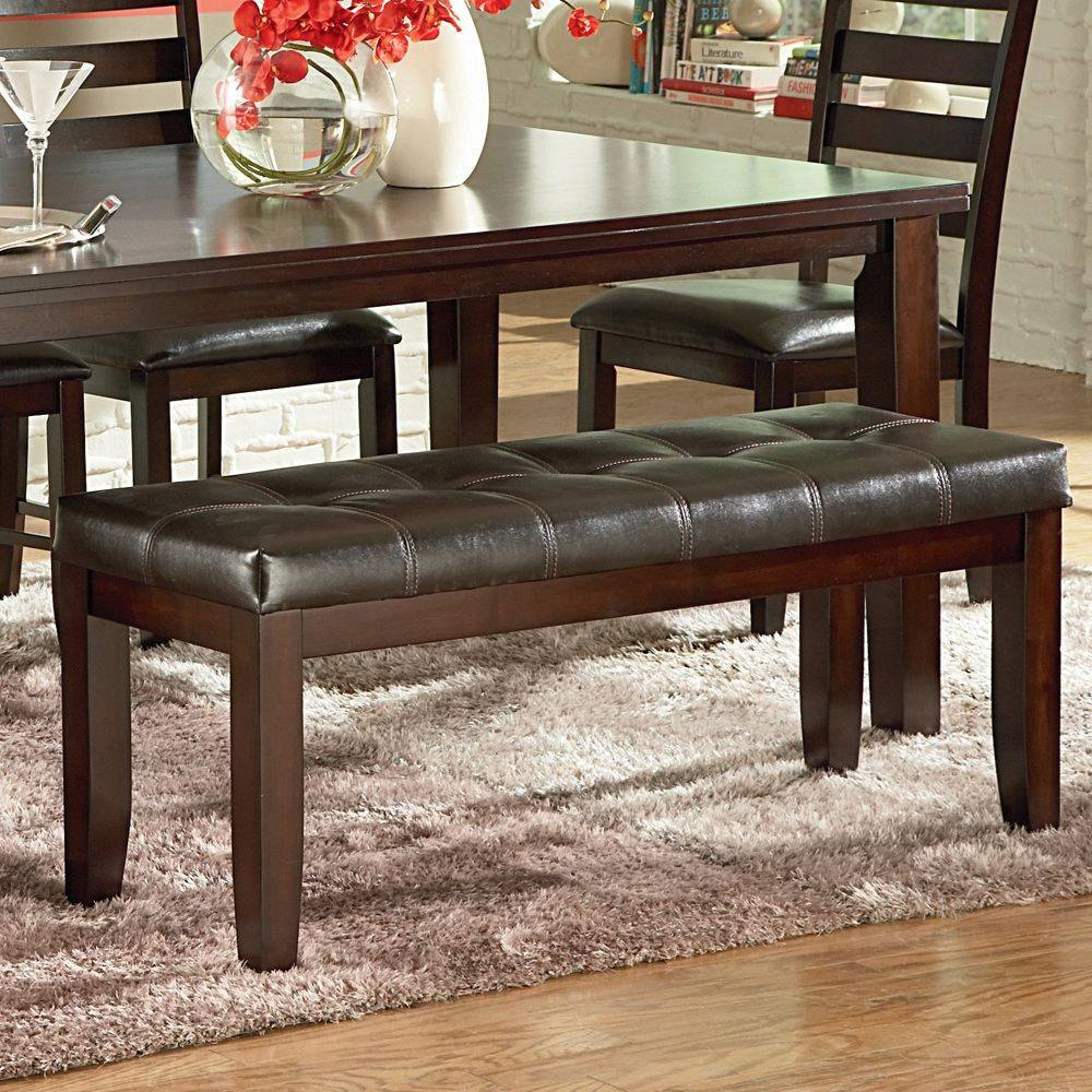 Counter Height Dining Room Bench: Counter Height Dining Bench – Dining Benches – Backless Benches, Bar Height