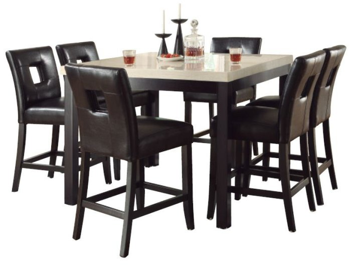 Granite Top Kitchen Table Set: Stone Top Kitchen & Dining Furniture
