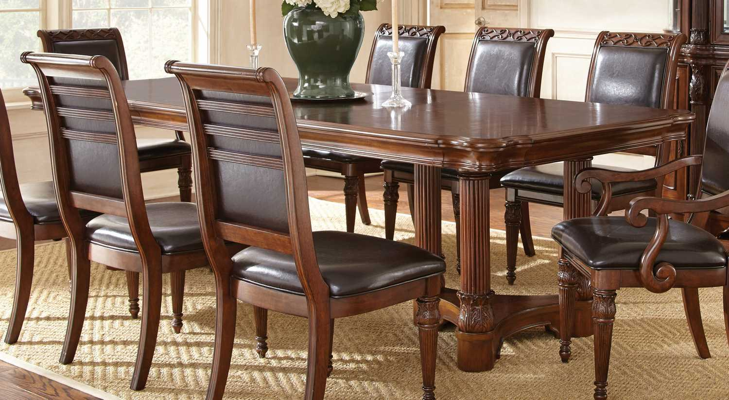 Steve silver furniture store dining room sets tables for Cheap dining room tables