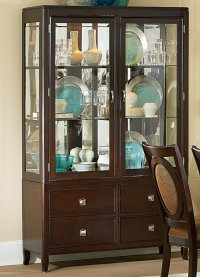China & Curio Cabinets  Kitchen & Dining Room Furniture ...