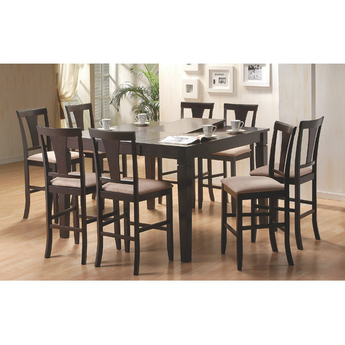 counter height set dining room sets with glass or marble awesome dining room sets for 2 contemporary ltrevents
