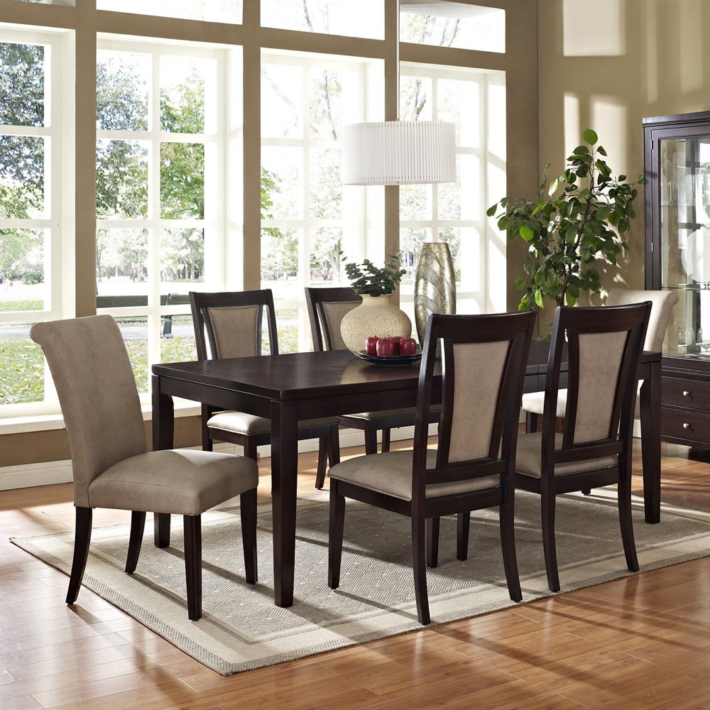 Dining Room Furniture East Rand Steve Silver Wilson Piece Set In
