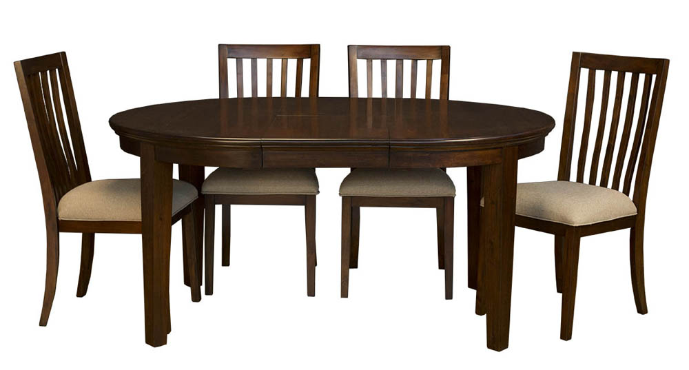 48x48 Dining Room Set W Slatback Chairs Efurniture