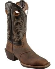 justin men's punchy stampede cowboy