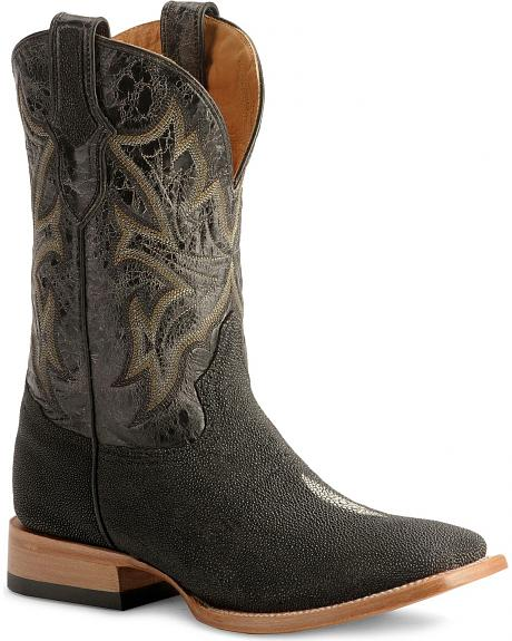Stetson Stingray Cowboy Boots  Wide Square Toe  Sheplers