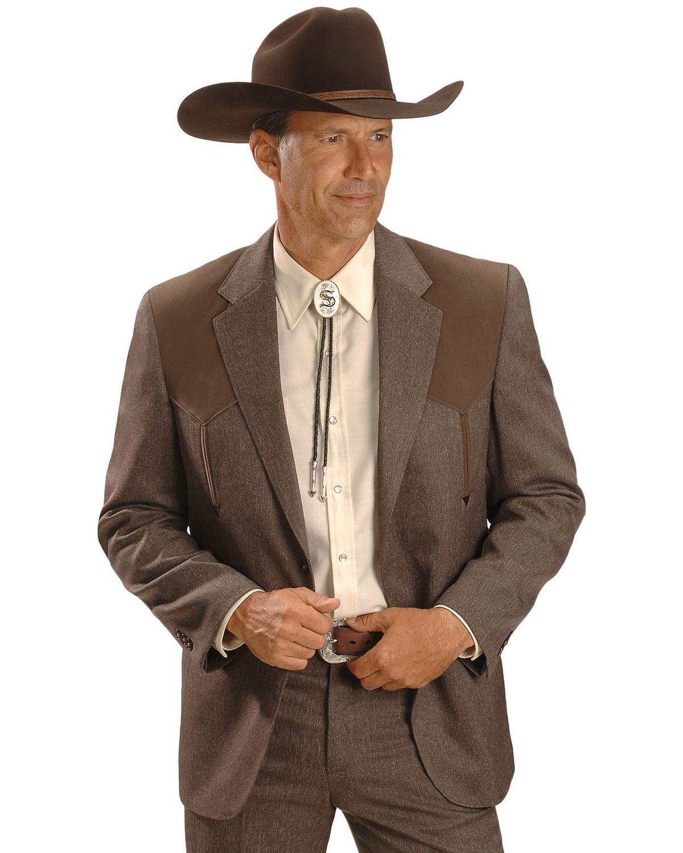 Circle S Mens Boise Western Suit Coat Short Reg Tall