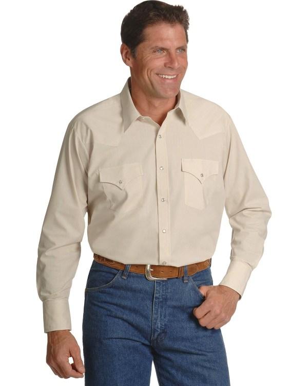 Ely Cattleman Western Shirts Tall Man
