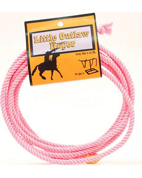 Little Outlaw Pink Lasso Rope  Sheplers