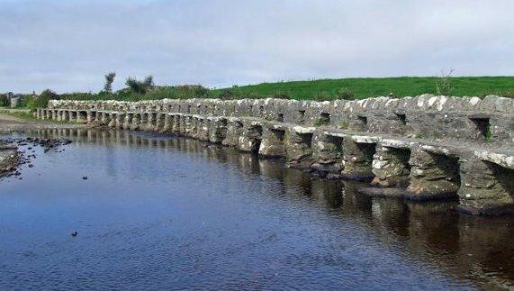 The Clapper Bridge, Louisburgh, County Mayo