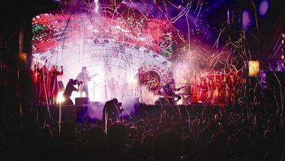 Rock concert in Belfast City