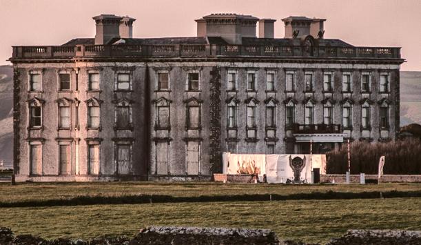 Behold, Loftus Hall. Warning! May cause chills...