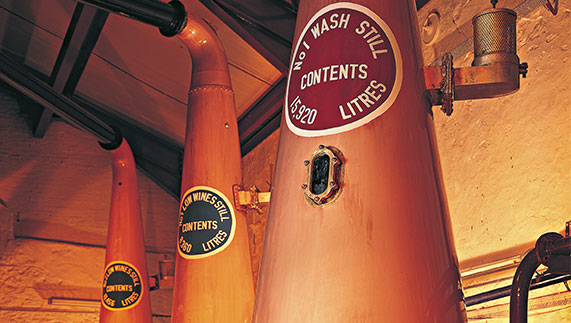 Bushmills Pot Stills
