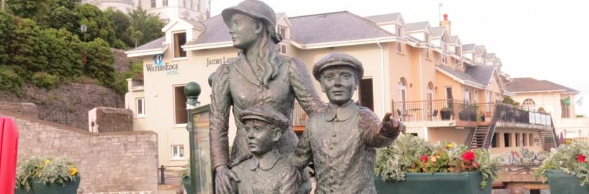 Annie Moore Monument, Cobh, County Cork