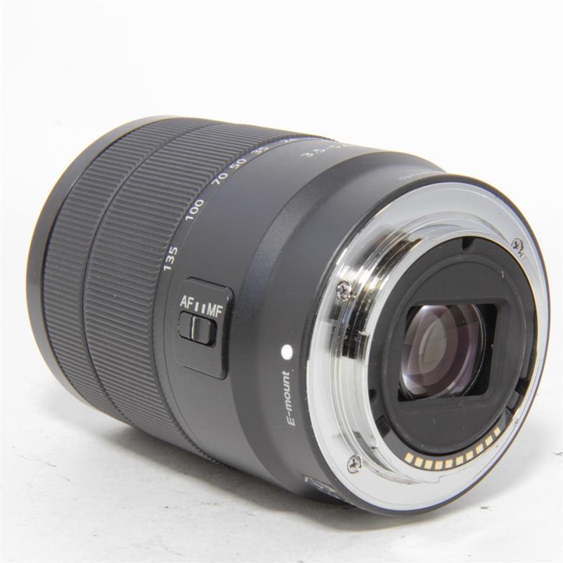 Used Sony E 18-135mm f3.5-5.6 OSS Lens   Like New   Unboxed   Black   Park Camer