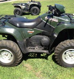 north state auctions auction consignment auction of atvs utvs motorcycles and trailers item 2005 suzuki king quad 700 4x4 fuel injected  [ 1280 x 960 Pixel ]
