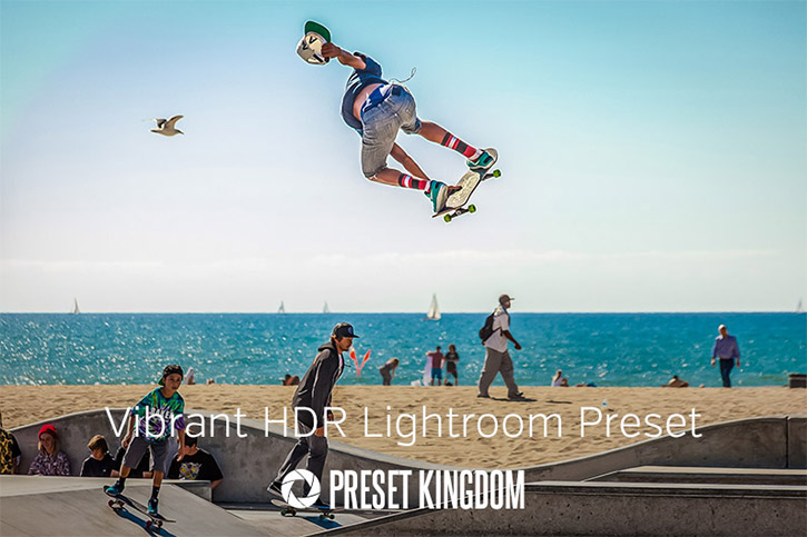 Vibrant HDR Lightroom Preset