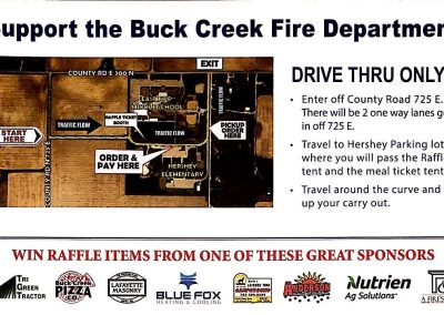 2020 Buck Creek Fish Fry Flyer