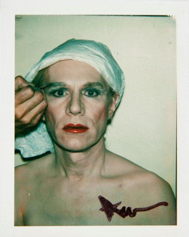Los autorretratos de Andy Warhol como drag, 1981 – Performia ...