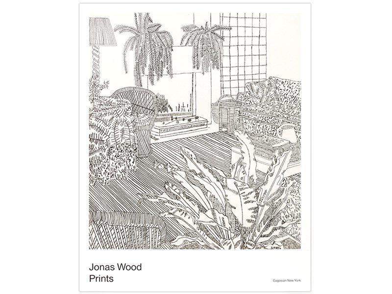 gagosian prints exhibition poster jonas wood artspace com