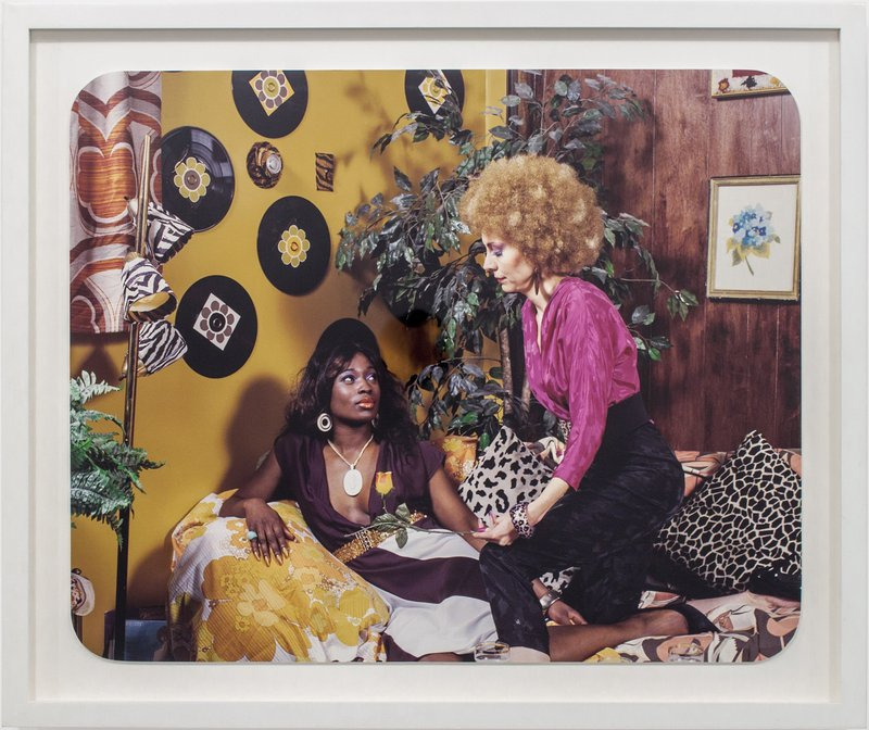 zebra print chairs for sale portable reading mickalene thomas | artist bio and art artspace