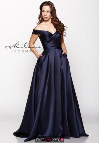 Milano Formals Dress E2046 | PromDressShop.com