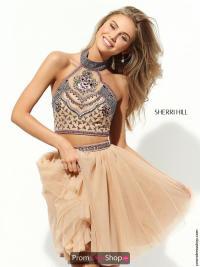 Sherri Hill Short Dress 50645 | PromDressShop.com