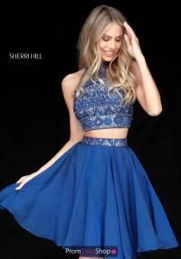 Sherri Hill Short Dress 51297 | PromDressShop.com