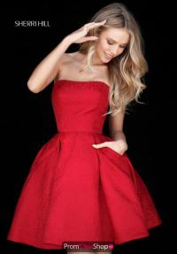 Sherri Hill Short Dress 51518 | PromDressShop.com